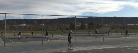 Boys Varsity Tennis Review