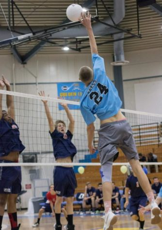Boys Volleyball Defeats Highland
