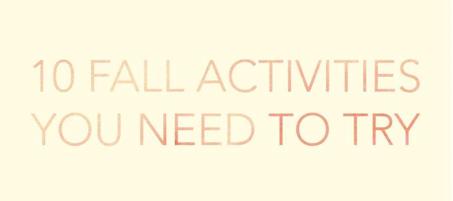 10 Fall Activities