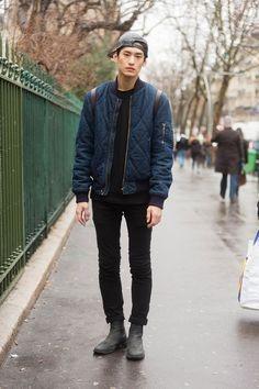 Kim Tae Hwan in Paris by Melodie Jeng