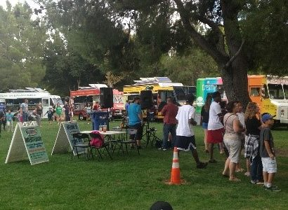Monday Bitez with the Food Trucks at Lancaster City Park