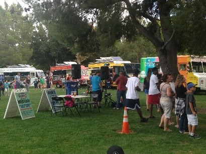 Monday Bitez with the Food Trucks at Lancaster City Park