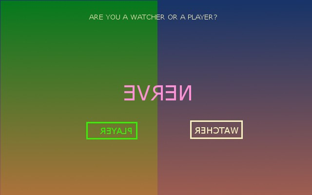 Nerve: Are You a Watcher or a Player?