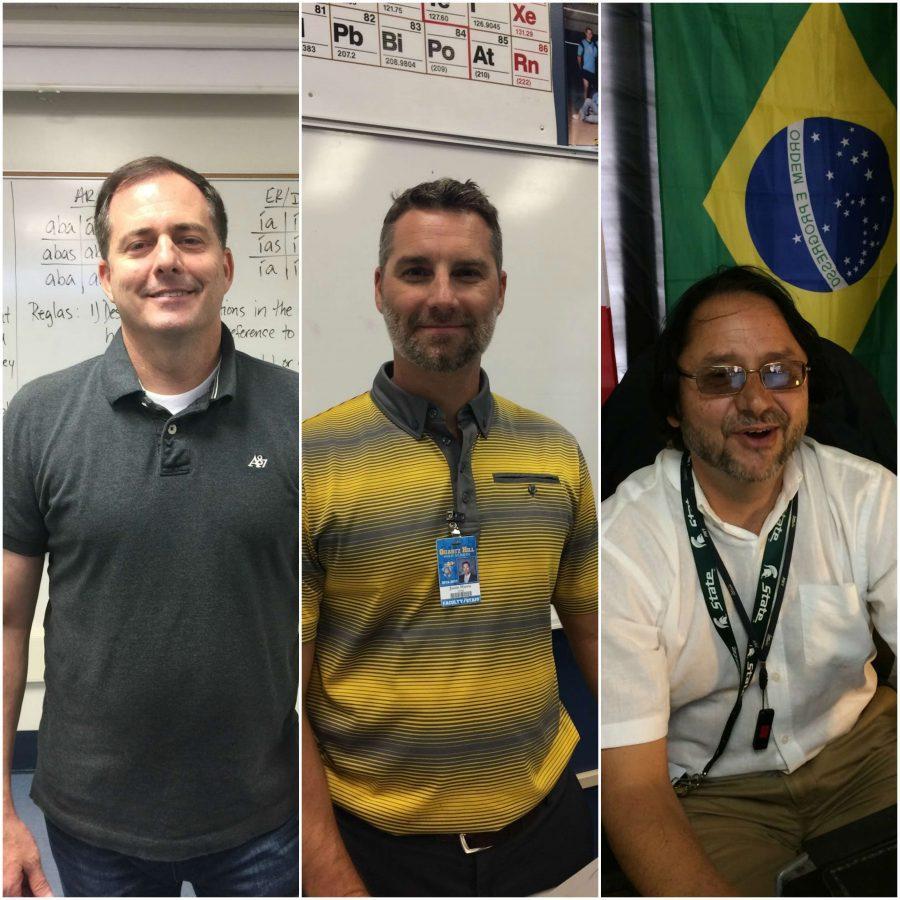 Mr. Ostler, Mr. Harris, and Mr. Cassidy