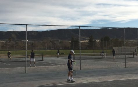 Boys Varsity Tennis Review