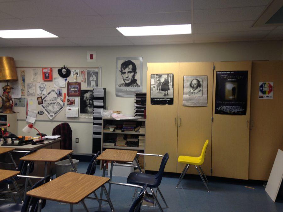 Mr. House's classroom