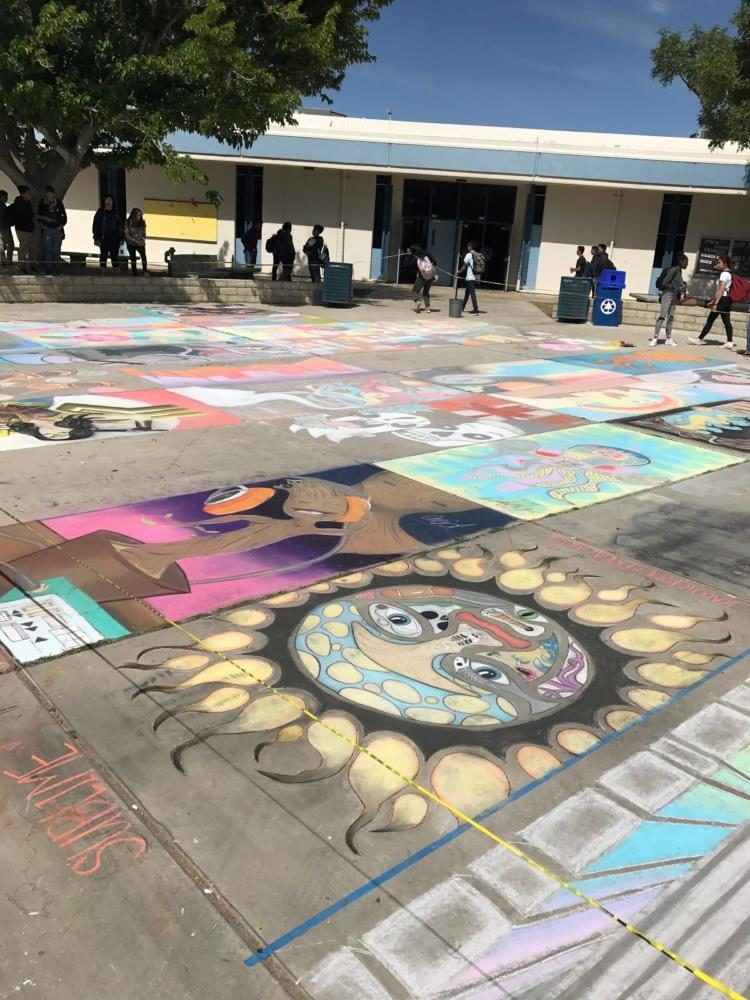 The Chalk Art Contest