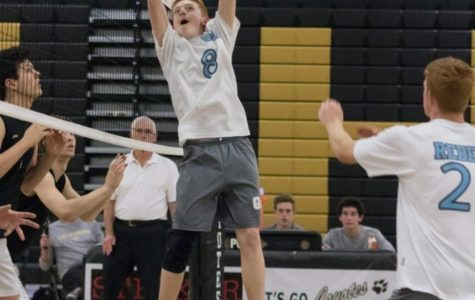 Zac Conte and the Boys' Varsity Volleyball Team Dominate the Valley