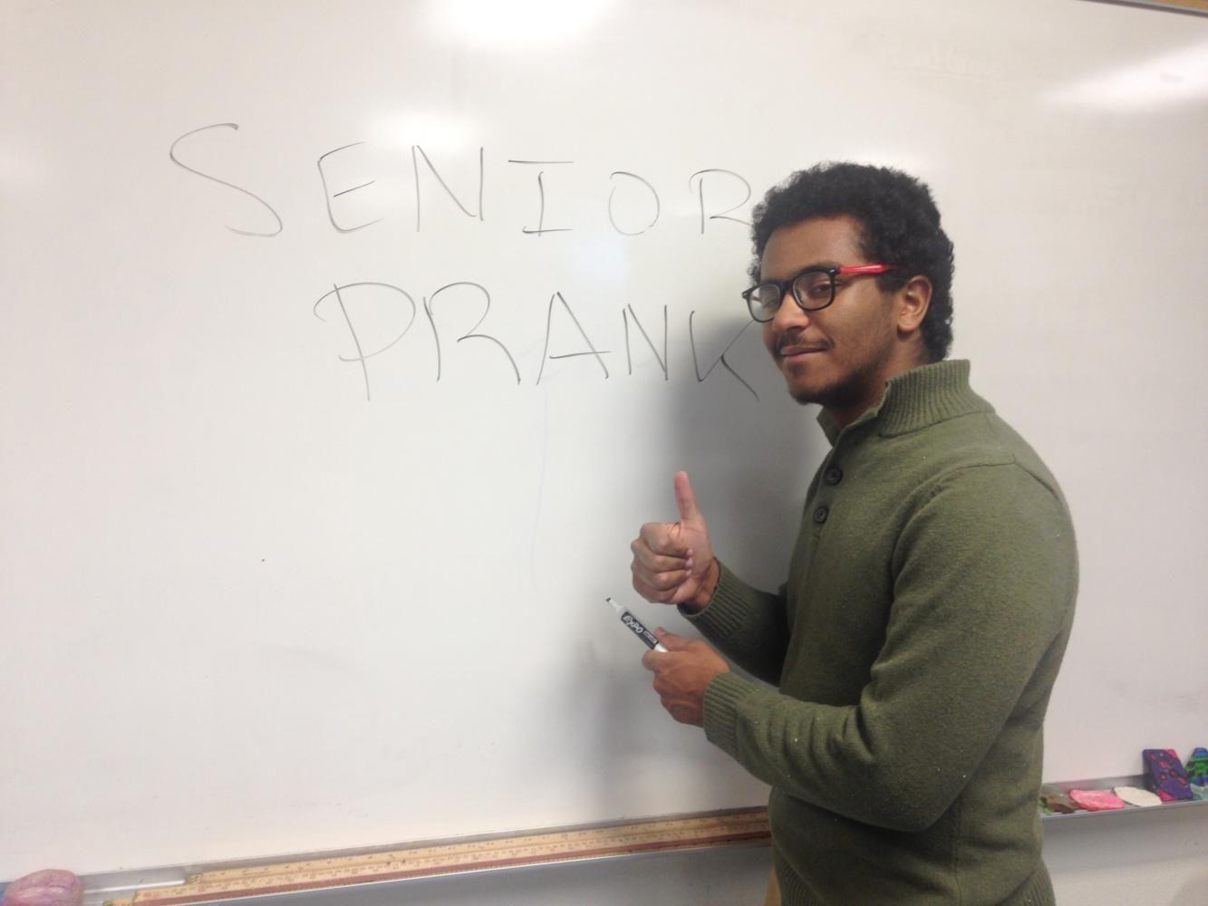The Perfect Senior Prank