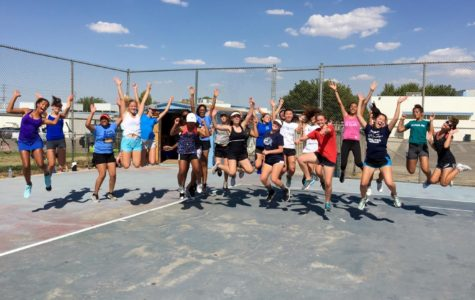 Tenacity at Girls' Tennis Tryouts
