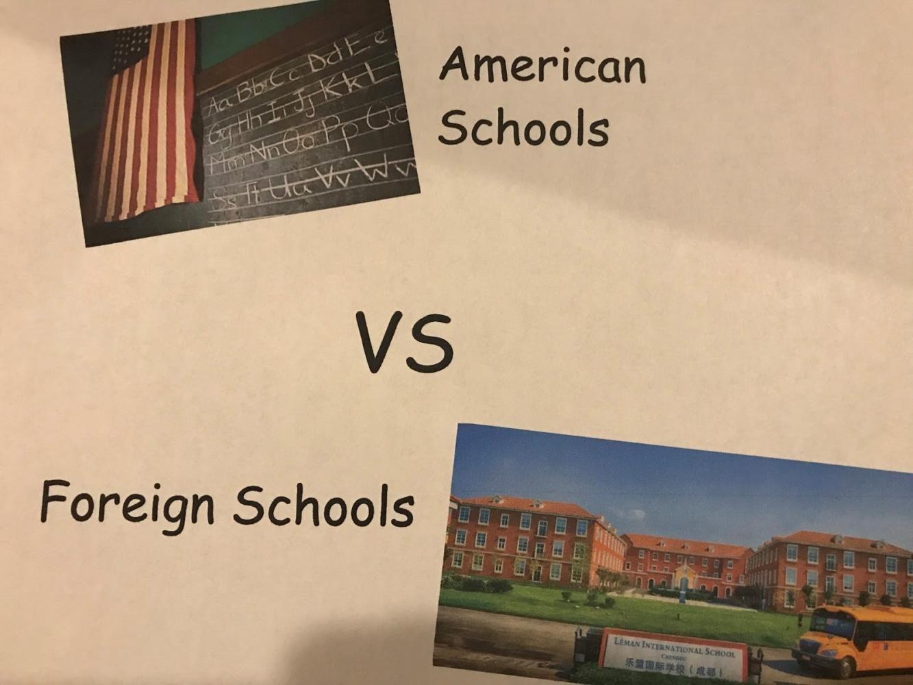 American School vs. Foreign Schools