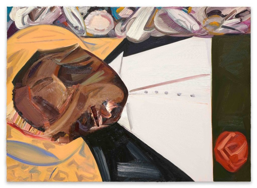 Dana Schutz, Open Casket (2016). Oil on canvas. Collection of the artist; courtesy Petzel, New York.