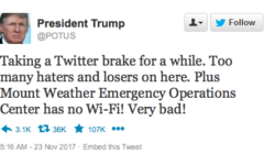 @POTUS Twitter Must be Used Responsibly