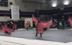 Quartz Hill High School Color Guard