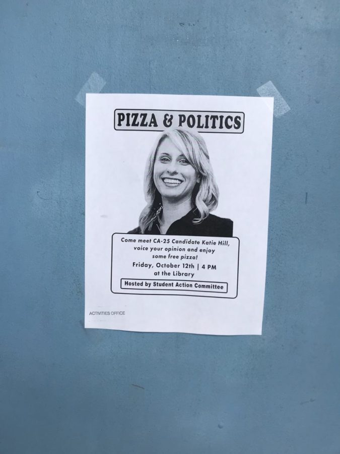 Mock Elections and Katie Hill