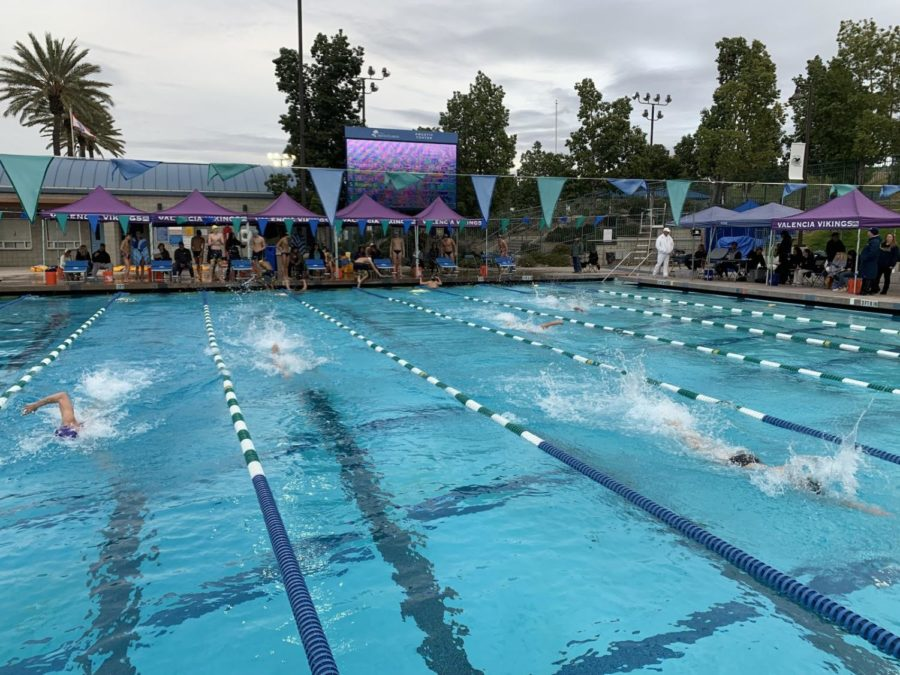 Swim Meet vs Valencia High