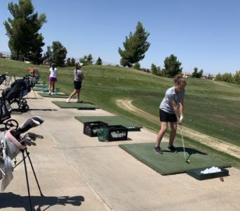 Girls' Golf Team on Par for a Great Season