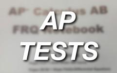 Beware: AP Tests Ahead